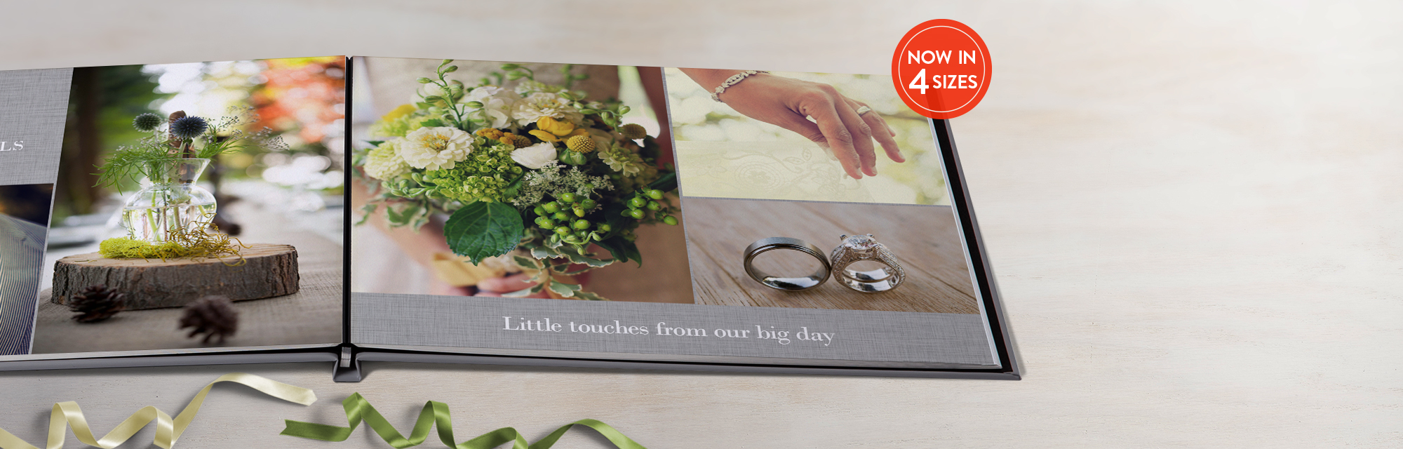 Made to adore : Our layflat hardcover photo books are so stunning, they might just inspire your everlasting devotion.